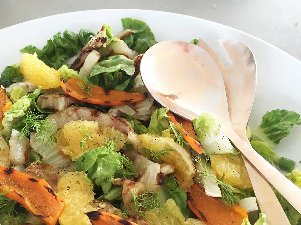 Salade-gegrilde-venkel-sinaasappel-recept-ChefErnst
