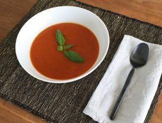 Italiaanse tomaten groentesoep