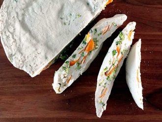 Zelfgemaakte groententofu