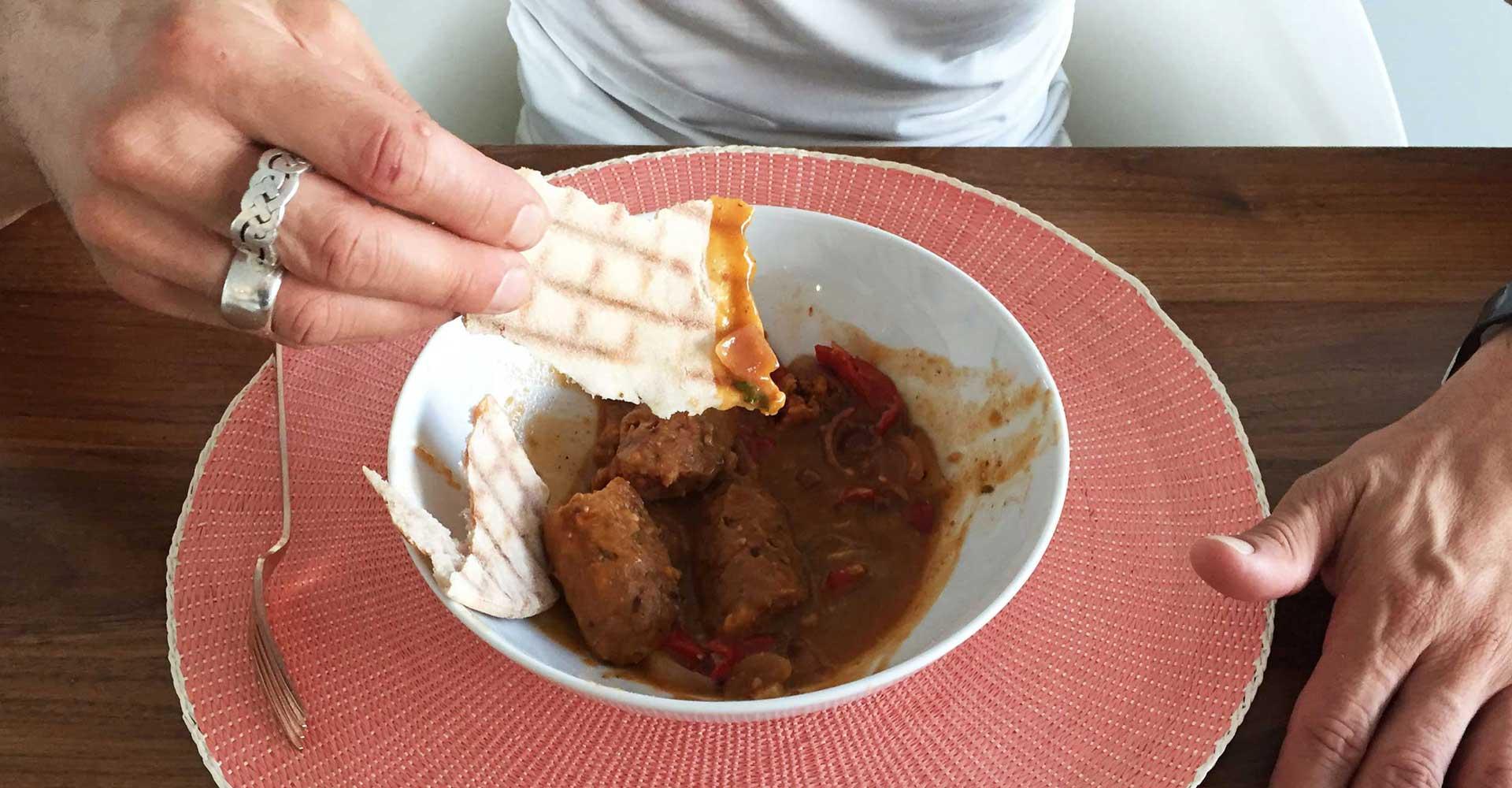 glutenvrije vegetarische worstjes
