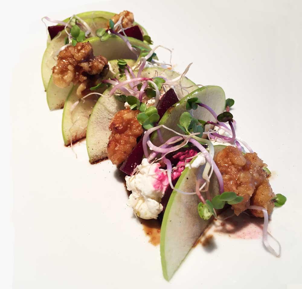 Vegetarische glutenvrije salade