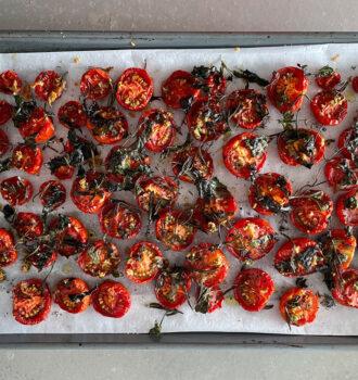 Oven gedroogde tomaten